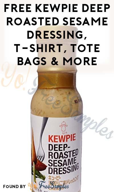 FREE Kewpie Deep Roasted Sesame Dressing, T-Shirt, Tote Bags & More (AK, ID, OR, WA Only + Apply To HouseParty.com)