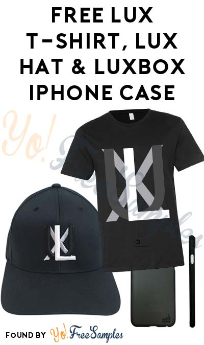 FREE LUX T-Shirt, LUX Hat & LuxBox iPhone Case For Referring Friends