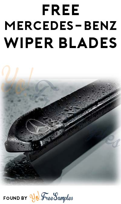FREE Mercedes-Benz Wiper Blades (Inspection & Email Confirmation Required)
