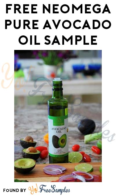 FREE Neomega Pure Avocado Oil Sample