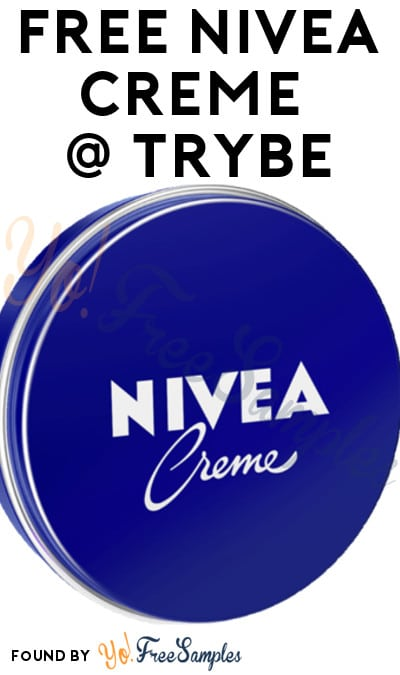 New Trial: FREE Nivea Creme For Men & Other Products From Trybe (Surveys Required) [Verified Received By Mail]
