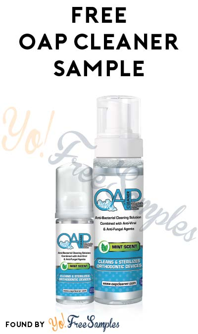 FREE OAP Cleaner For Professionals Sample