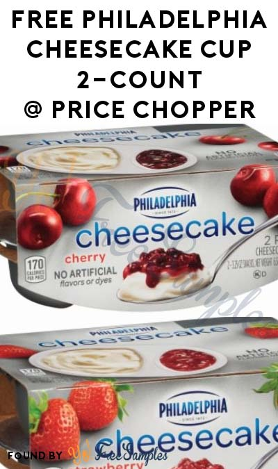 TODAY ONLY: FREE Philadelphia Cheesecake Cup 2-Count At Price Chopper