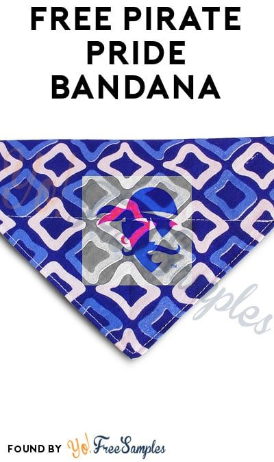 FREE Pirate Pride Bandana