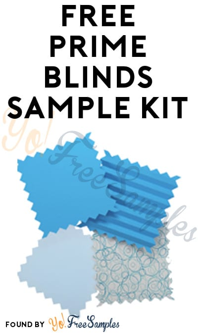 FREE Prime Blinds Sample Kit