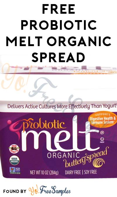 FREE Probiotic MELT Organic Spread & More (Mom Ambassador Membership Required)