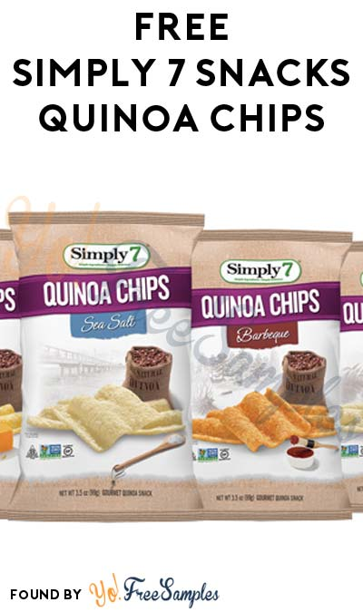 FREE Simply 7 Snacks Quinoa Chips, Coupons & More (Mom Ambassador Membership Required)