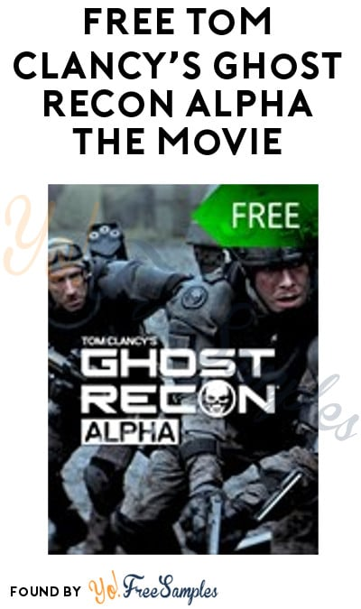 FREE Tom Clancy's Ghost Recon ALPHA the Movie