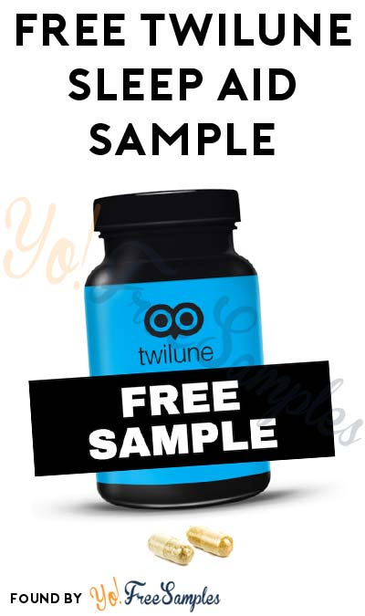 FREE Twilune Sleep Aid Sample
