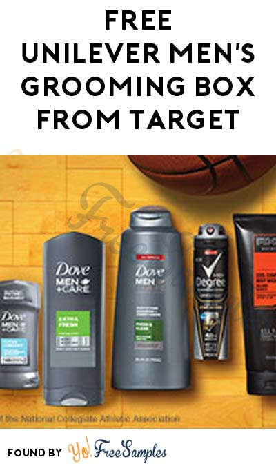 FREE Unilever Men's Grooming Box From Target