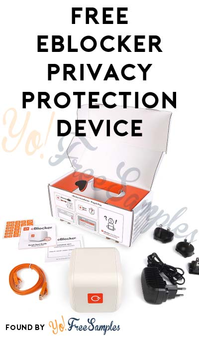 FREE eBlocker Privacy Protection Device & More (Must Apply To Host Tryazon Party)