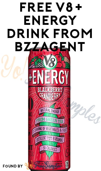 Possible FREE V8+ Energy Drink From BzzAgent