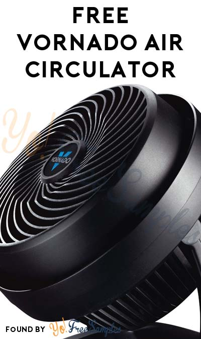 Possible FREE Vornado Air Circulator From ViewPoints/PowerReviews.com (Survey Required)