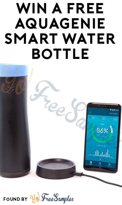 Win A FREE AquaGenie Smart Water Bottle
