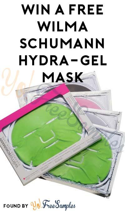 Win A FREE Wilma Schumann Hydra-gel Mask