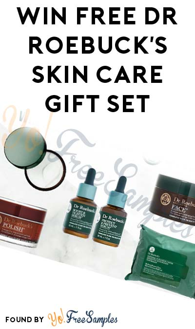 Win FREE Dr Roebuck's Skin Care Gift Set (Facebook Required)