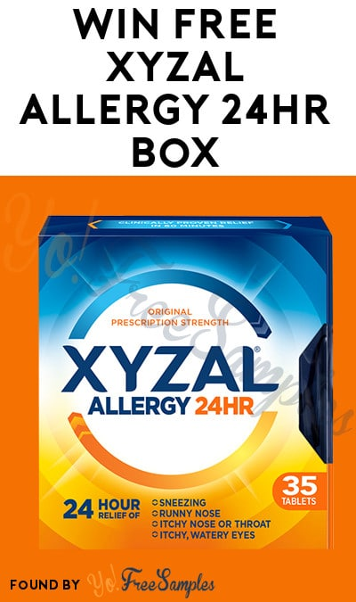 Win FREE Xyzal Allergy 24HR Box From Dr Oz