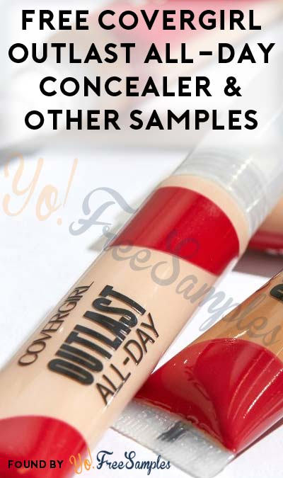 Possible FREE COVERGIRL Outlast All-Day Concealer & Other Makeup For Becoming Covergirl Insider (Must Apply)