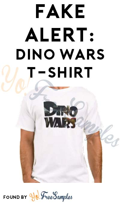 FAKE ALERT: Dino Wars T-Shirt