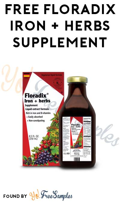 FREE Floradix Iron + Herbs Supplement & More (Mom Ambassador Membership Required)