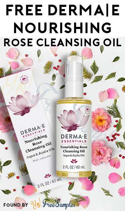 First 1,000: FREE derma|e Nourishing Rose Cleansing Oil