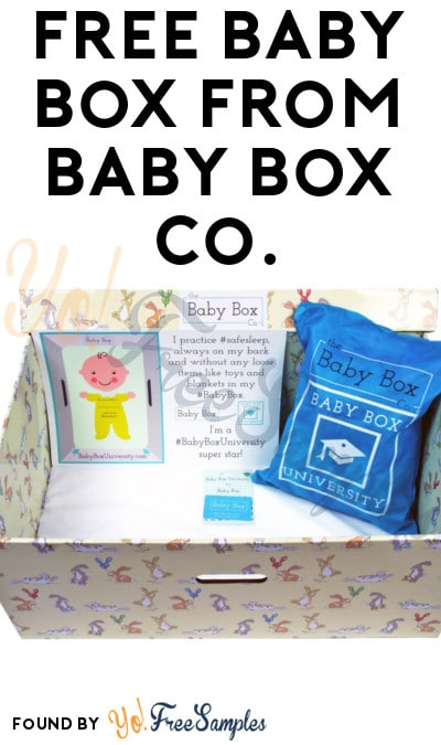 FREE Baby Box From Baby Box Co. (Pick Up + Select States + Quiz Required)
