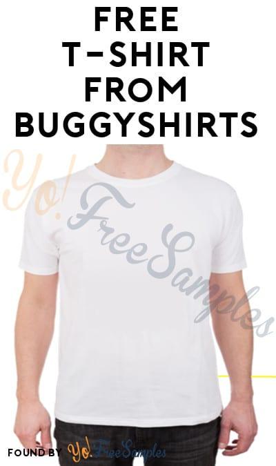 FREE BuggyShirts T-Shirt Sample