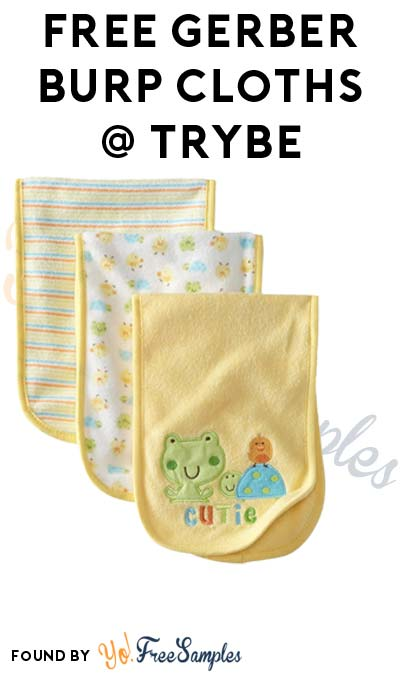 FREE Gerber Burp Cloths & Other Products From Trybe (Surveys Required)