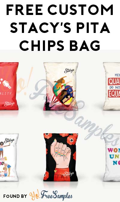 FREE Customized Stacy's Pita Chips Bag