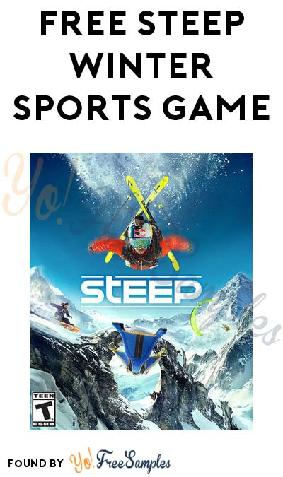 FREE Steep Winter Sports Game Today Through March 12th 2017