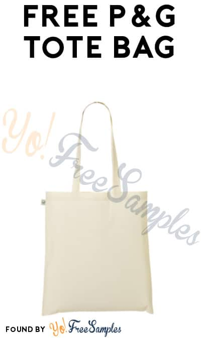 Possible FREE Eco-Friendly P&G Tote Bag (Smiley360 & Purchases Required)