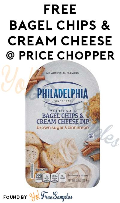 TODAY ONLY: FREE Philadelphia Bagel Chips & Cream Cheese Dip 2.5 oz At Price Chopper