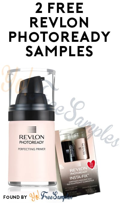 2 FREE Revlon PhotoReady Samples From CrowdTap (Mission Required)