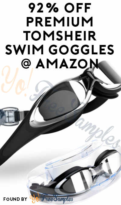 DEAL ALERT: 92% OFF Premium TOMSHEIR Swim Goggles On Amazon (Free Shipping With Prime)