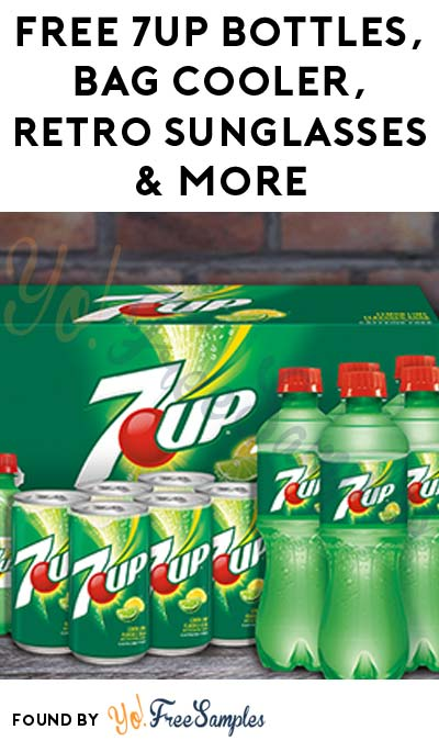 FREE 7UP Bottles, Bag Cooler, Retro Sunglasses & More (Most States, Apply To HouseParty.com)