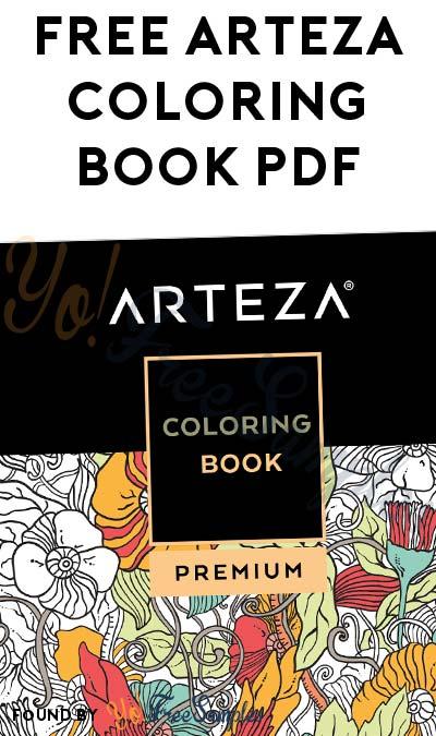 FREE Arteza Coloring Book PDF