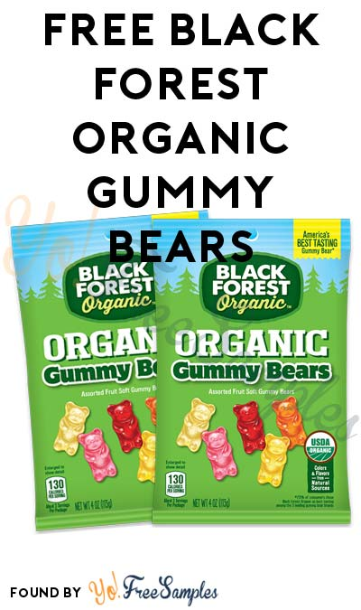 FREE Black Forest Organic Gummy Bears (Mom Ambassador Membership Required)