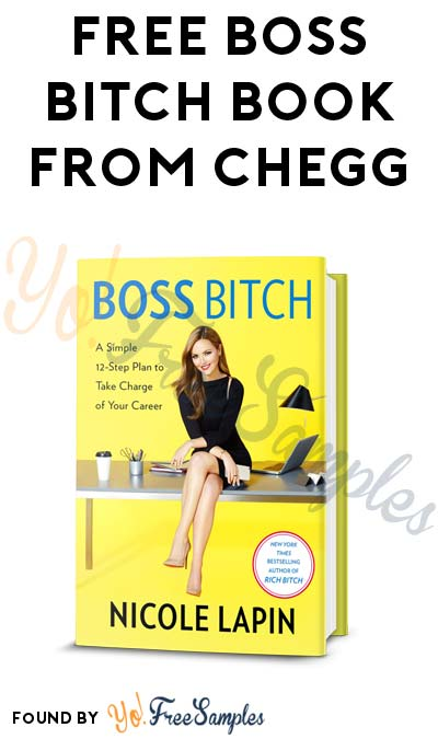 FREE Boss Bitch Book From Chegg