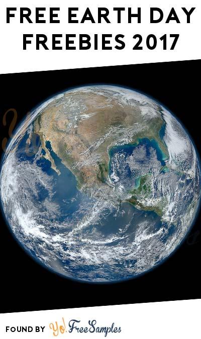 FREE Earth Day Freebies 2017