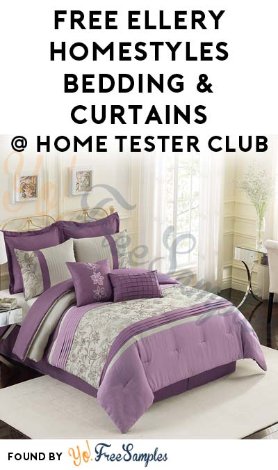 FREE Ellery Homestyles Bedding & Curtains From Home Tester Club (Survey Required)