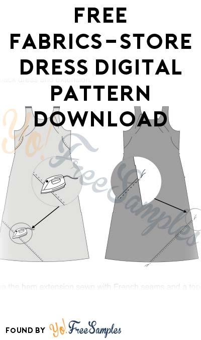 FREE Fabrics-Store Dress Digital Pattern Download