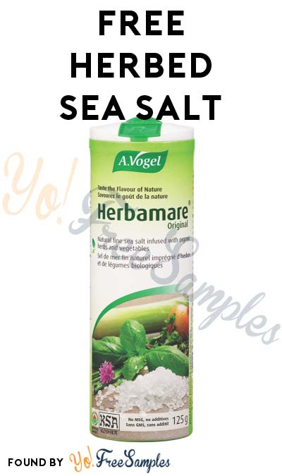 FREE Herbed Sea Salt & Many Other Products At Social Nature (Survey Required) [Verified Received By Mail]