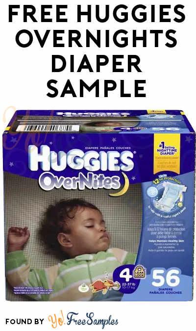 Back Again: FREE Huggies Overnights Diaper Sample Size 3 & 4 - Yo ...