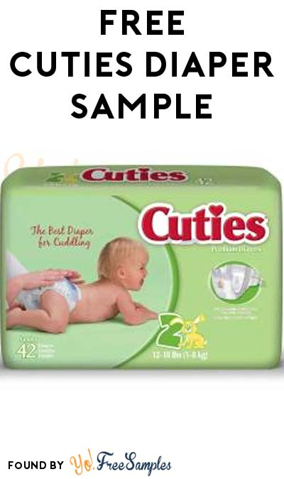 FREE Cuties Diaper