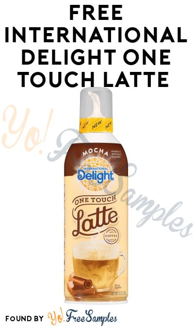 FREE International Delight One Touch Latte From CrowdTap (Mission Required)