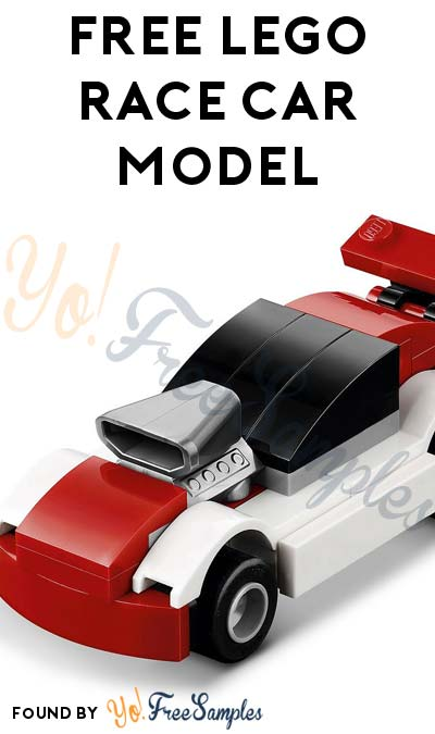 Registration Open: FREE LEGO Race Car Model From Mini Model Build Event May 2nd & 3rd