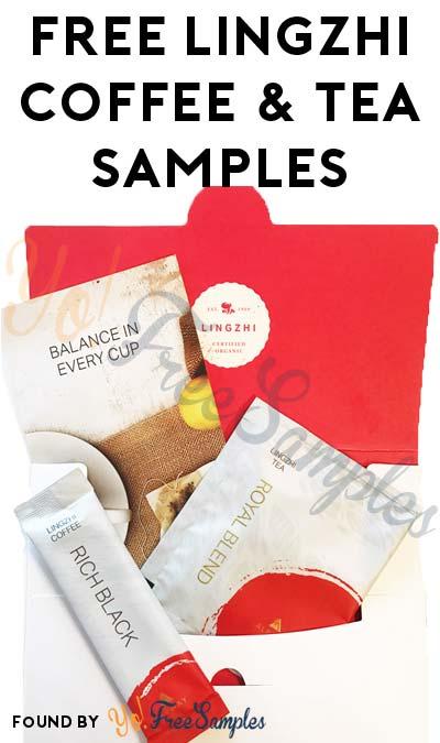 FREE Lingzhi Rich Black Coffee, Latte & Royal Blend Tea Samples