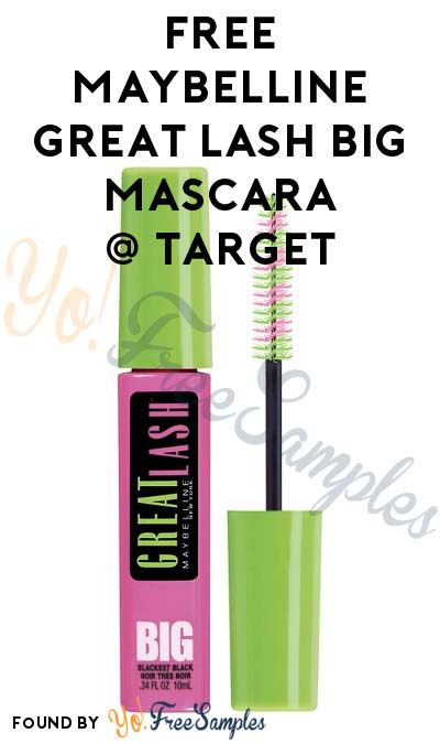 Possible FREE Maybelline Great Lash BIG Mascara At Target (Price Match & Coupon Required)