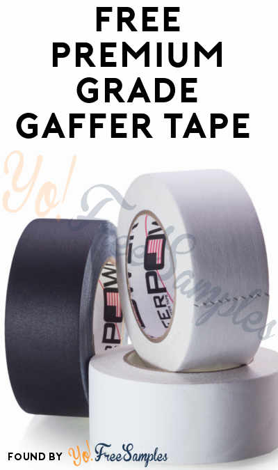 FREE Premium Grade Gaffer Tape