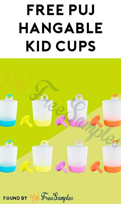 ENDS TODAY: FREE Puj Phillup Hangable Kid Cups For Referring Friends (5 Friends Minimum)